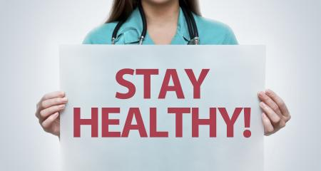 de nieuwe lockdown: stay healthy!